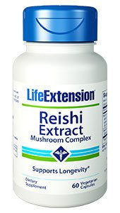 Life Extension Reishi Extract Vegetarian Capsules, 60 Count-Speedy Health Supplements