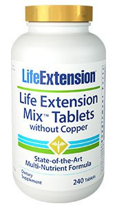 Life Extension Mix Tablets without Copper 240 Tabs-Speedy Health Supplements