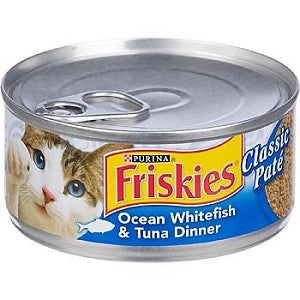 Friskies- Whitefish and Tuna