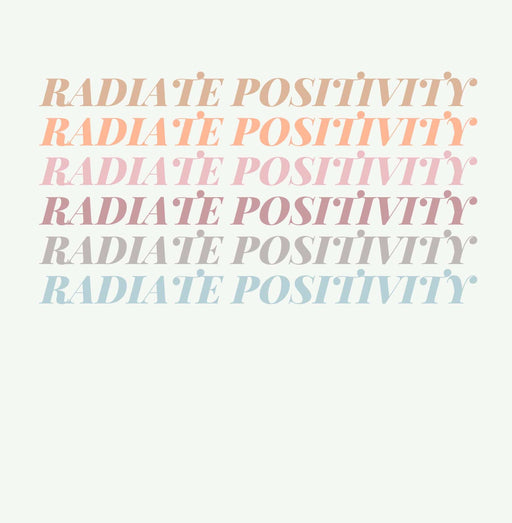 Radiate Positivity Art Print