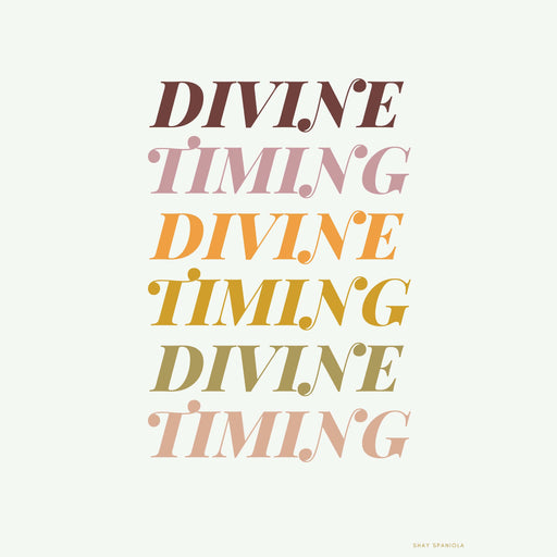 Divine Timing Art Print