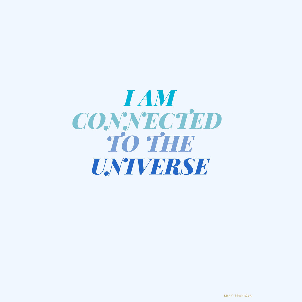 I Am Connected Art Print