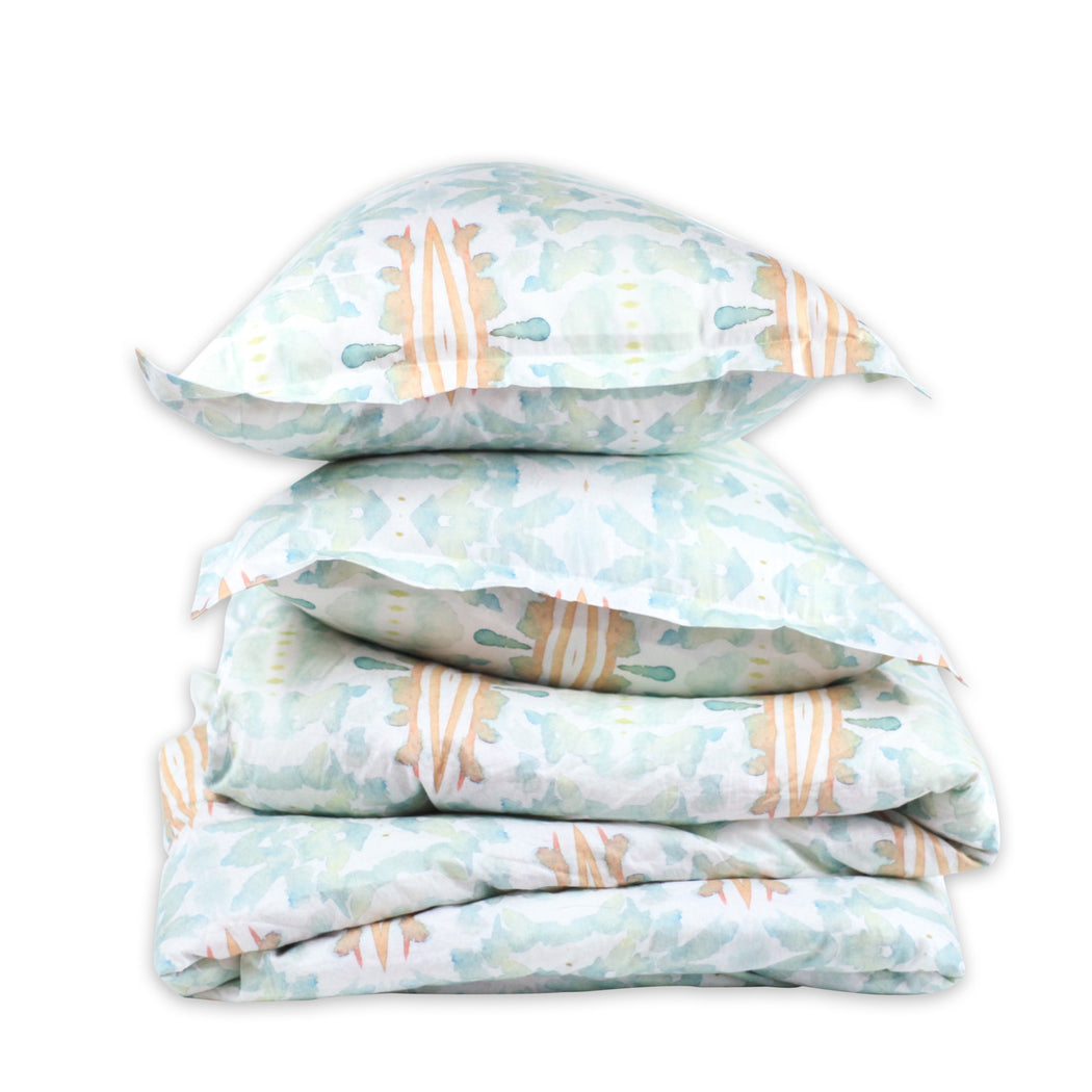 LIGHT BLUE SKY duvet - bunglo by shay spaniola - 1