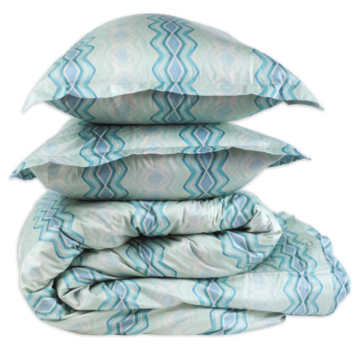 OCEAN WAVES duvet - bunglo by shay spaniola - 1