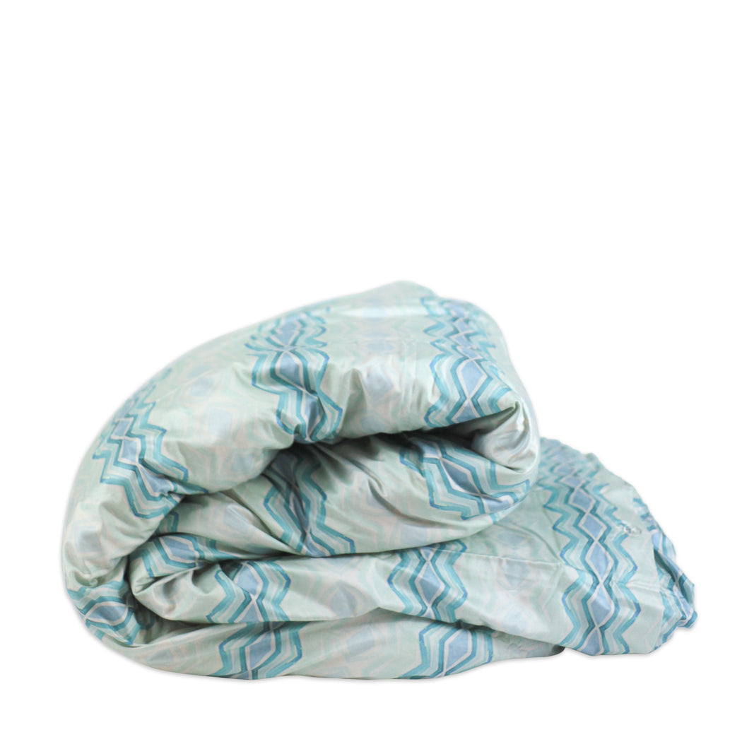 OCEAN WAVES duvet - bunglo by shay spaniola - 2