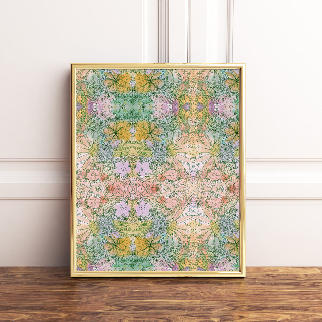 Flower Child Art Print