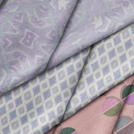 Lavender Mantis Fabric