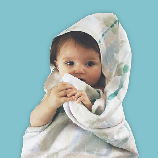 Tadpole Hooded Baby Towel