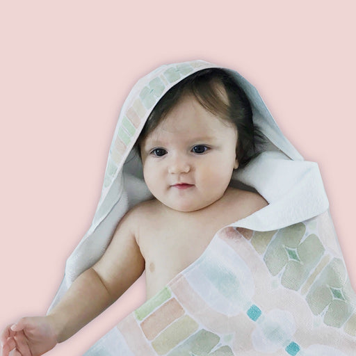 Toucan Hooded Baby Towel
