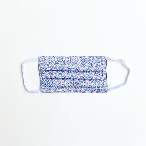 Blue Lillie Reusable Organic Cotton Ear Loop Face Mask