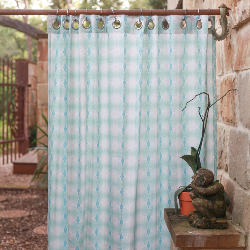 shay modern by spaniola curtains products mar insta photos apr santa bunglo of cruz shower