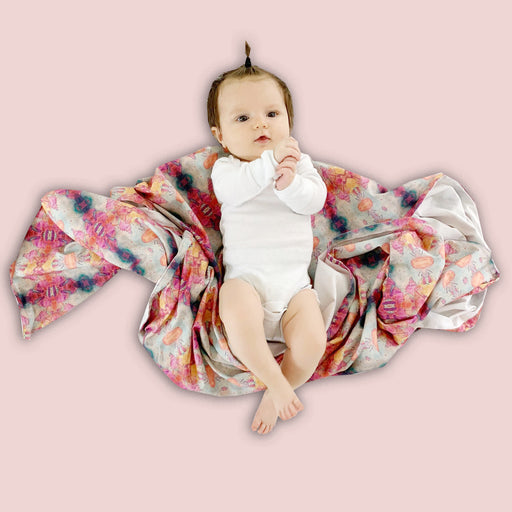 Indian Ocean Swaddle Blanket