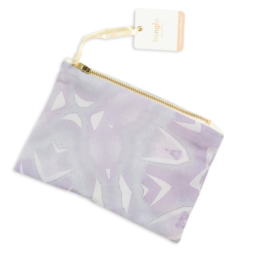 PURPLE LOTUS POUCH - bunglo by shay spaniola