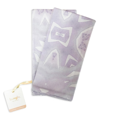 PURPLE LOTUS NAPKINS - bunglo by shay spaniola