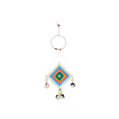 TURQUOISE MINI THAI DREAM CATCHER