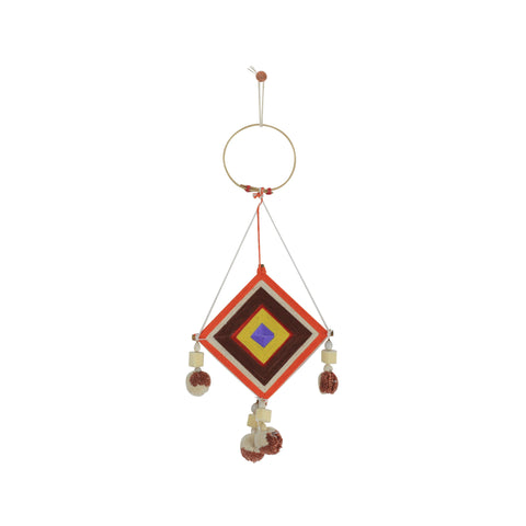 ORANGE MINI THAI DREAM CATCHER