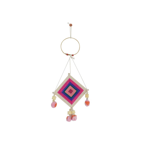 PINK MINI THAI DREAM CATCHER
