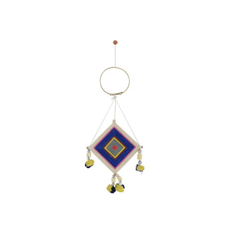 NAVY MINI THAI DREAM CATCHER