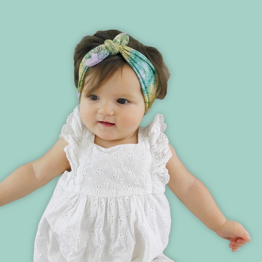 Wildflower Baby Headband