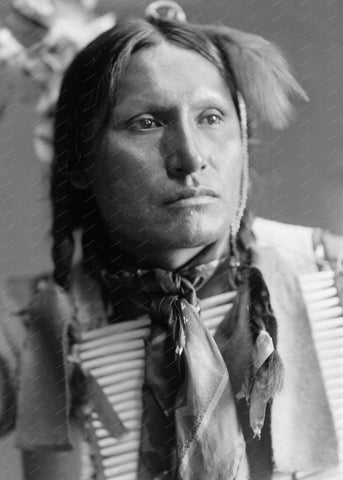 American Horse Indian 1900 8x10 Reprint Of Old Photo