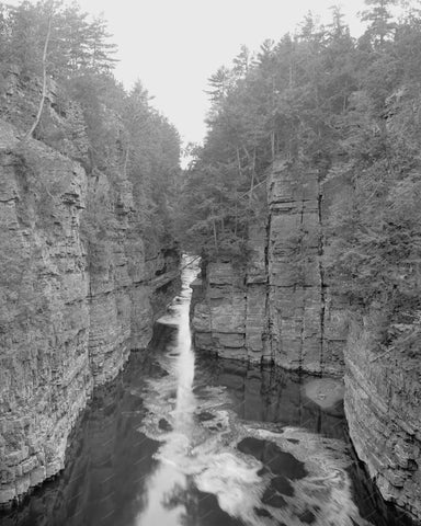Ausable Chasm The Pool NY 1905 Vintage 8x10 Reprint Of Old Photo - Photoseeum