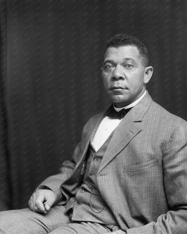 Booker T Washington Vintage 8x10 Reprint Of Old Photo 2