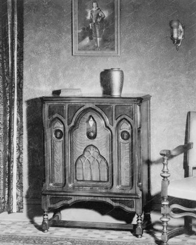 Console Radio 1929 Vintage 8x10 Reprint Of Old Photo - Photoseeum