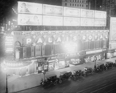 Palais Royal Theatre New York 8x10 Reprint Of Old Photo