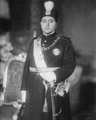 Shah of Persia 8x10 Reprint Of Old Photo 2 - Photoseeum