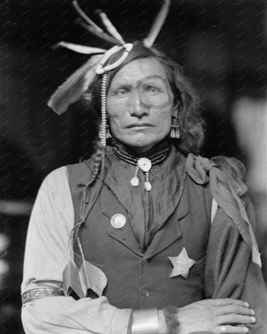 Sioux American Indian 1900 8x10 Reprint Of Old Photo