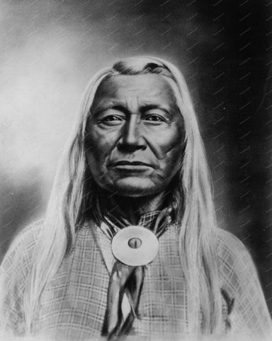 Washakie Chief of Shoshones 1900 8x10 Reprint Of Old Photo 2 - Photoseeum