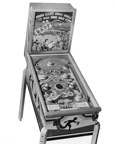 Chicago Coin Crazy Ball Pinball Machine 1948 8x10 Reprint Of Old Photo