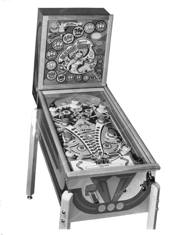 Genco Mardi Gras Pinball Machine 1948 8x10 Reprint Of Old Photo