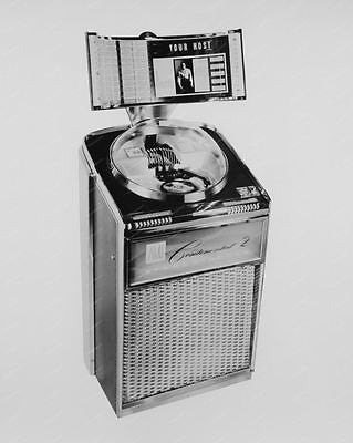 AMI Jukebox Continental 2 100 Selections 8x10 Reprint Of Old Photo - Photoseeum