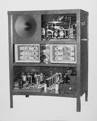 AMI Jukebox Interior 8x10 Reprint Of Old Photo