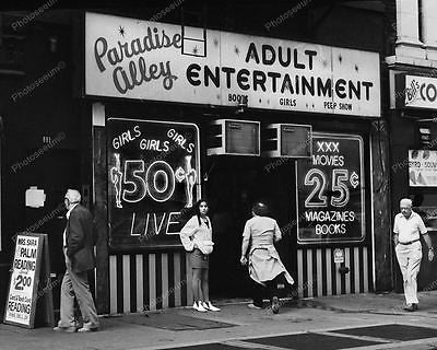 Peep Show Adult Store Window Vintage 8x10 Reprint Of Old Photo - Photoseeum