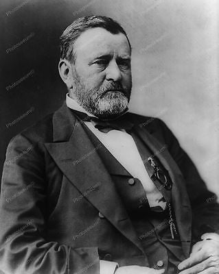 President Ulysses S Grant 1869 Vintage 8x10 Reprint Of Old Photo