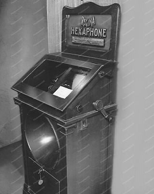 Regina Hexaphone Model 104 Phonograph1910 Vintage 8x10 Reprint Of Old Photo