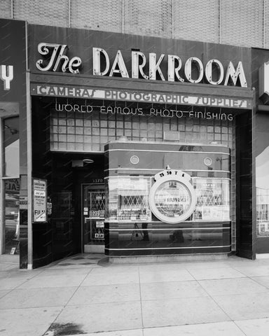 The Darkroom Photo Store 8x10 Reprint Of Old Photo