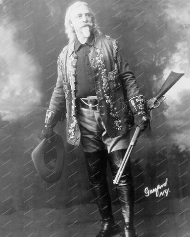 William Frederick Buffalo Bill Cody 1846-1917 Vintage 8x10 Reprint Of Old Photo - Photoseeum