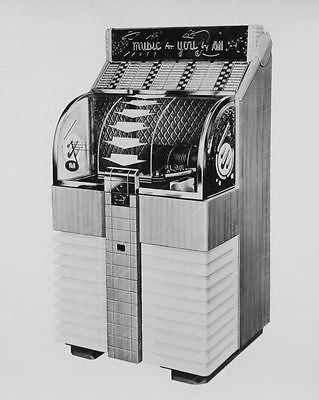 AMI D-80 Jukebox 8x10 Reprint Of Old Photo