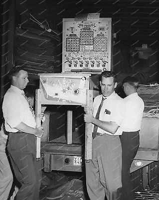 Bally Ice Frolics Bingo 1953 Pinball Machine Vintage 8x10 Reprint Of Old Photo