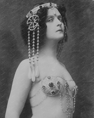 Belly Dancer1910 8x10 Reprint Of Old Photo