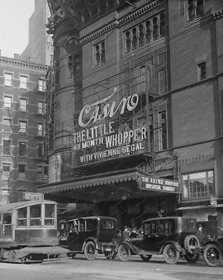 Casino Theater Showing The Little Whopper Vintage 8x10 Reprint Of Old Photo