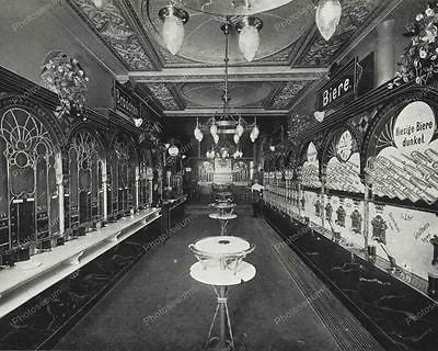 Coin Op Food Arcade 1896 Vintage 8x10 Reprint Of Old Photo