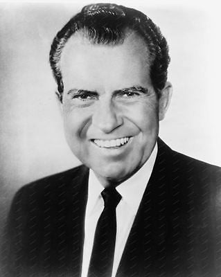 President Richard Nixon Vintage 8x10 Reprint Of Old Photo