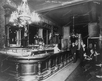 Private Bar Saloon 1915 8x10 Reprint Of Old Photo