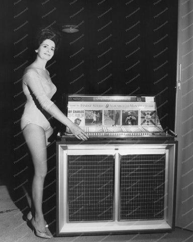 Seeburg Console Jukebox 1962 Vintage 8x10 Reprint Of Old Photo