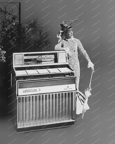 Wurlitzer Jukebox Model 3200 From 1968 Vintage 8x10 Reprint Of Old Photo