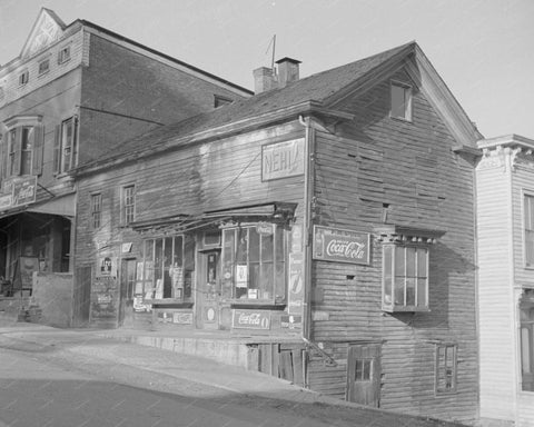 General Store With Various Soda Signs 8x10 Reprint Of Old Photo
